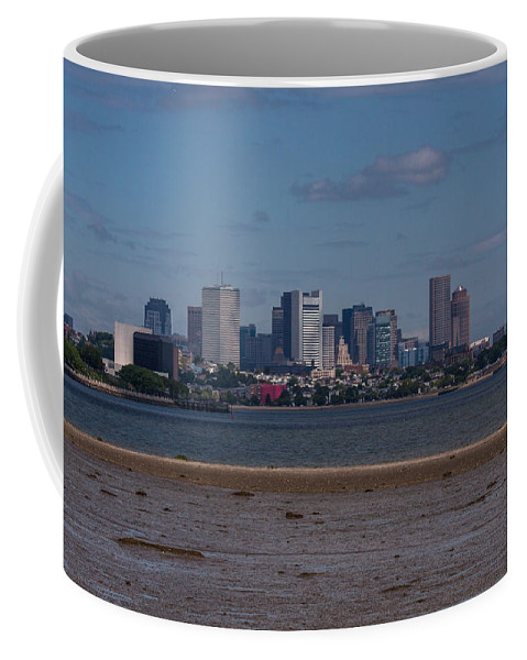 America Coffee Mug featuring the photograph Jfk Library And Boston by Brian MacLean
