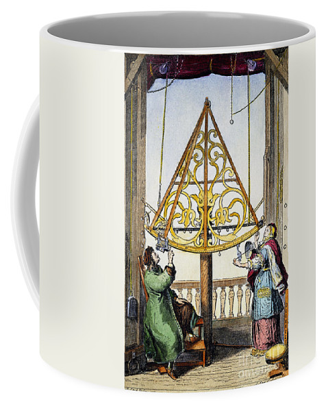 1673 Coffee Mug featuring the photograph Johannes Hevelius by Granger