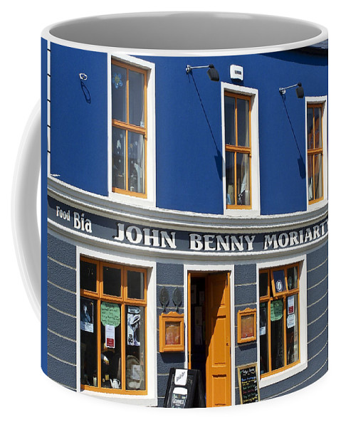 Irish Coffee Mug featuring the photograph John Benny by Teresa Mucha