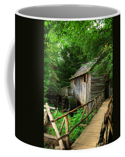 Mill Coffee Mug featuring the photograph John Cable Mill by Darin Williams