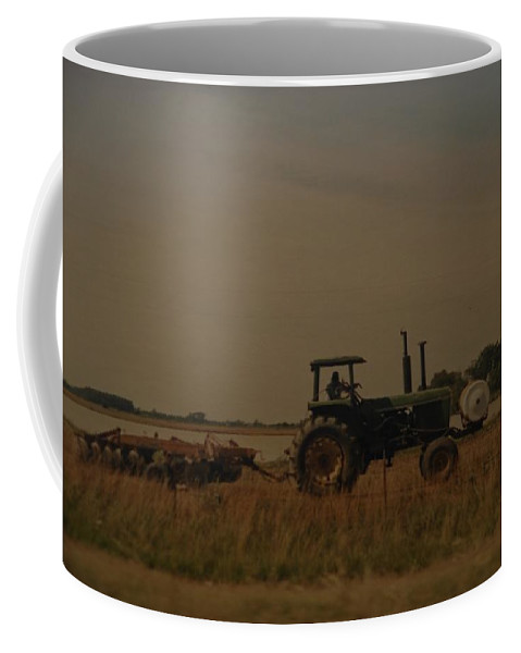 Arkansas Coffee Mug featuring the photograph John Deere Arkansas by Rob Hans