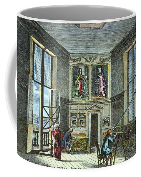 Astronomer Coffee Mug featuring the photograph John Flamsteed, C. 1700 by Granger