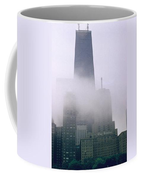 Illinois Coffee Mug featuring the photograph John Hancock Building by Gary Wonning
