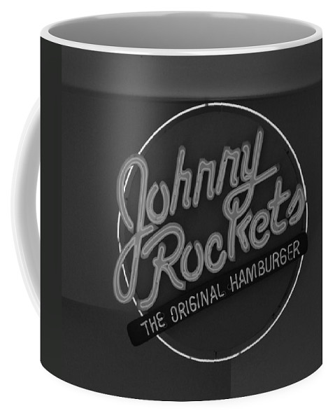 Macro Coffee Mug featuring the photograph Johnny Rockets by Rob Hans