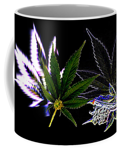 Africa Coffee Mug featuring the digital art Joint Venture by Jacqueline Lloyd