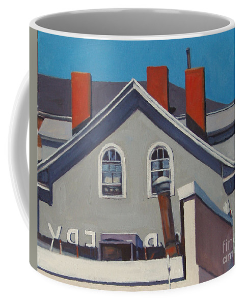 South Boston Coffee Mug featuring the painting Josephs by Deb Putnam