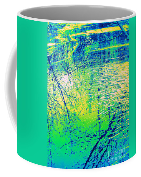 Water Art Coffee Mug featuring the photograph Journey by Sybil Staples