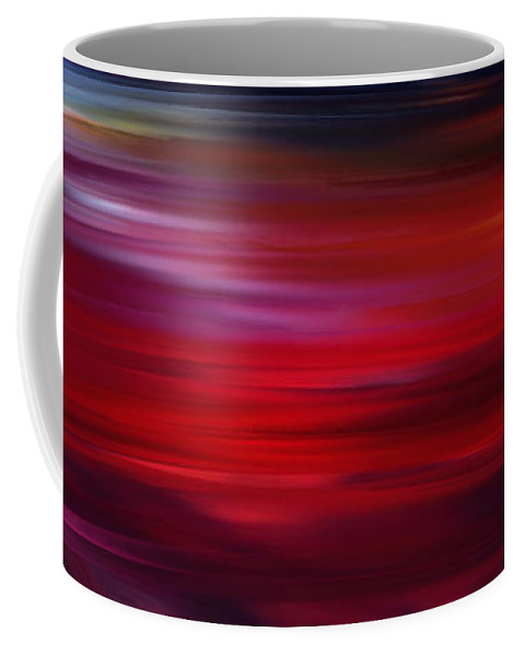 Scenic Coffee Mug featuring the digital art Journey Through Color 2 by Rabi Khan
