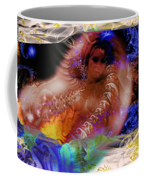 Clay Coffee Mug featuring the photograph Journey To The Centre Of Man's Mind by Clayton Bruster