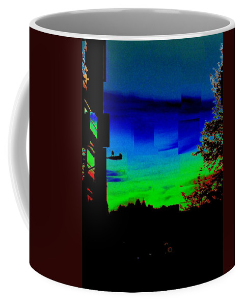 Sunset Coffee Mug featuring the photograph Joyin The Sunset Together by Tim Allen