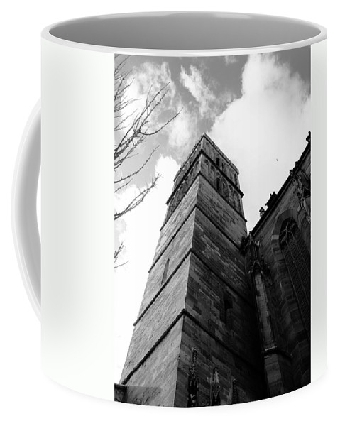 Cathedral Coffee Mug featuring the photograph Judgment by Dylan Punke