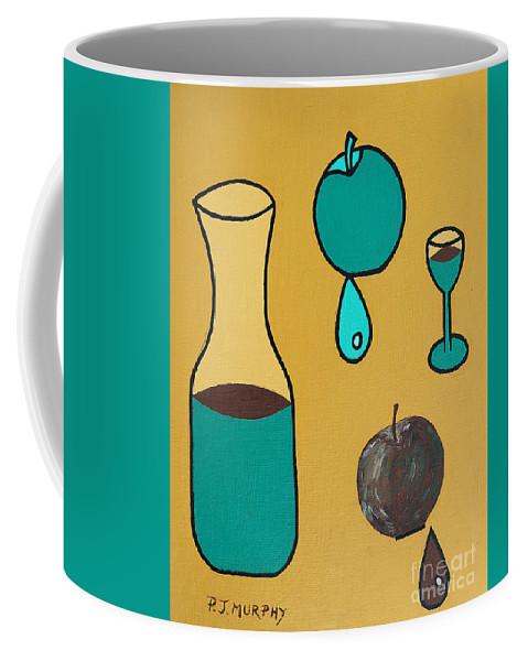 Juice Coffee Mug featuring the painting Juice by Patrick J Murphy