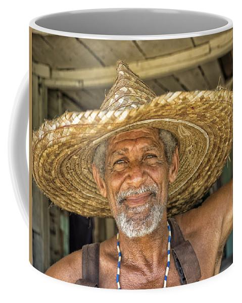 Baracoa Coffee Mug featuring the photograph Julio by Dan Leffel