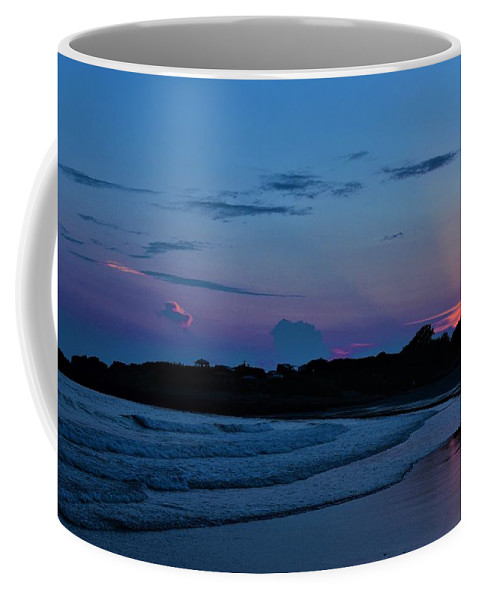 July Evening Coffee Mug featuring the photograph July Evening by Paul Barnes