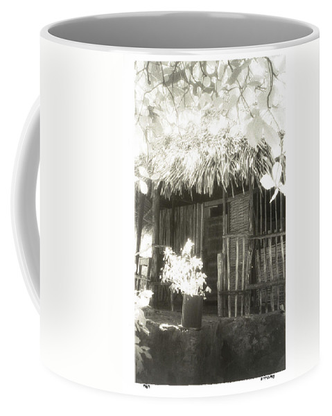 Fine Art Photography Coffee Mug featuring the photograph Jungle Hideaway by Jerry McElroy
