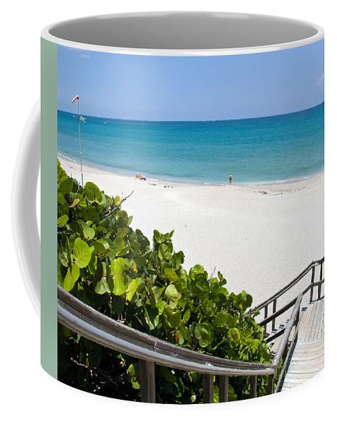 Juno; Florida; Loxahatchee; River; Jupiter; Inlet; Swim; Swimming; Children; Girl; Boy; Woman; Man; Coffee Mug featuring the photograph Juno Florida by Allan Hughes
