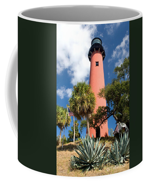 Lighthouse Coffee Mug featuring the photograph Jupiter Lighthouse II by Thomas Marchessault
