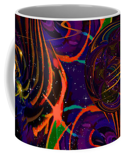 Fractal Coffee Mug featuring the digital art Just 4 Phun Se02 Ep01 by Phil Sadler