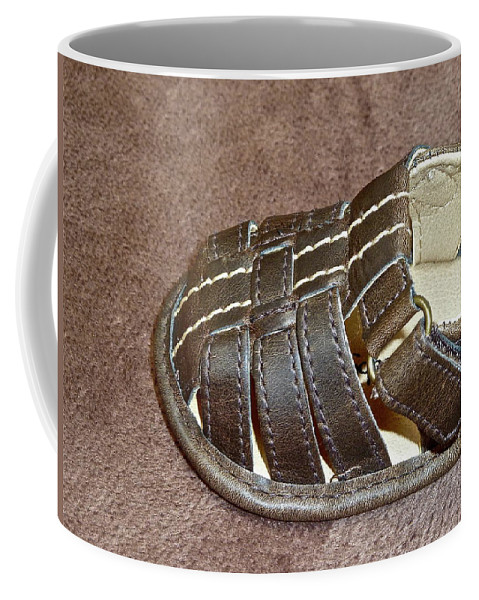 Babies Coffee Mug featuring the photograph Just Add Toes by Diana Hatcher