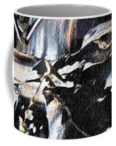 Black & White Coffee Mug featuring the photograph Just Black And White by Nordan Nielsen