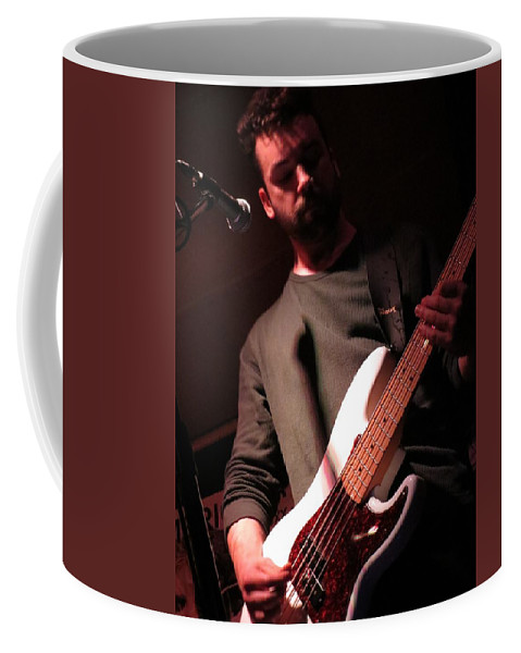 Guitarist Coffee Mug featuring the photograph Just Rocking by Aaron Martens