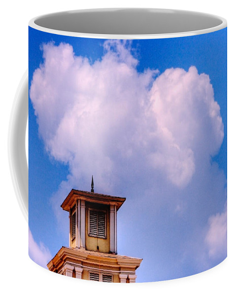 Sky Coffee Mug featuring the photograph Just The Top by Ches Black