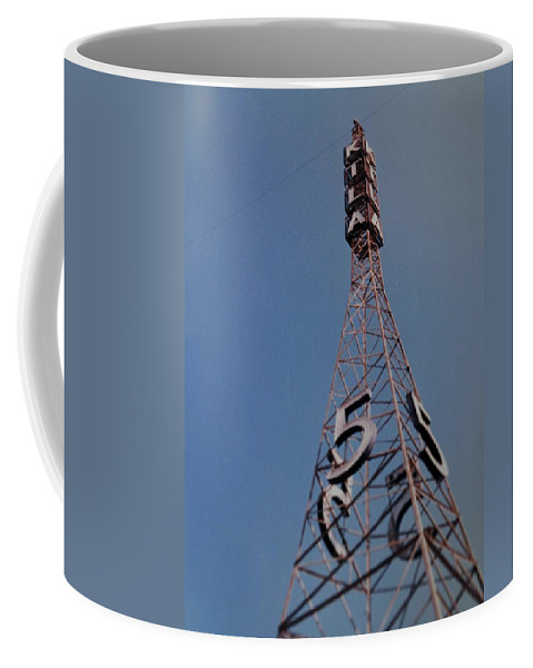 Hollywood Coffee Mug featuring the photograph K T L A Channel 5 by Rob Hans