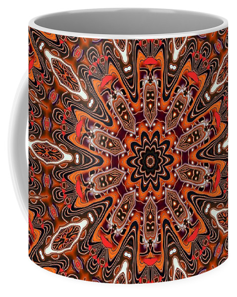 Kaleidoscope Coffee Mug featuring the photograph Kaleidoscope 85 by Ron Bissett