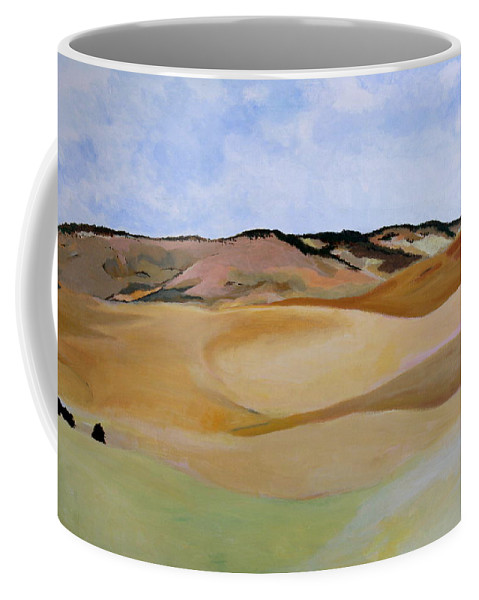 Landscapes Coffee Mug featuring the painting Kamiak Butte by Sarah Hamilton