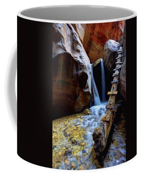 Kanarra Coffee Mug featuring the photograph Kanarra by Chad Dutson