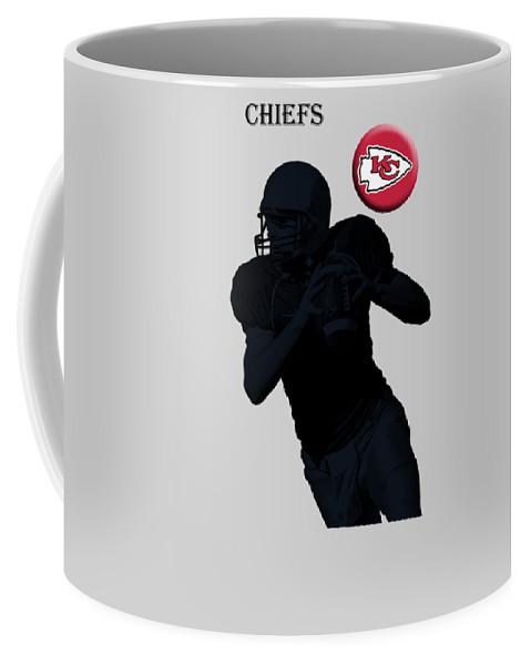 Kansas City Chiefs Coffee Mug featuring the digital art Kansas City Chiefs by T Shirts R Us -