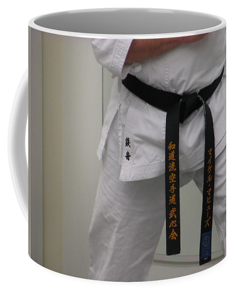 Karate Coffee Mug featuring the photograph Kata by Kelly Mezzapelle