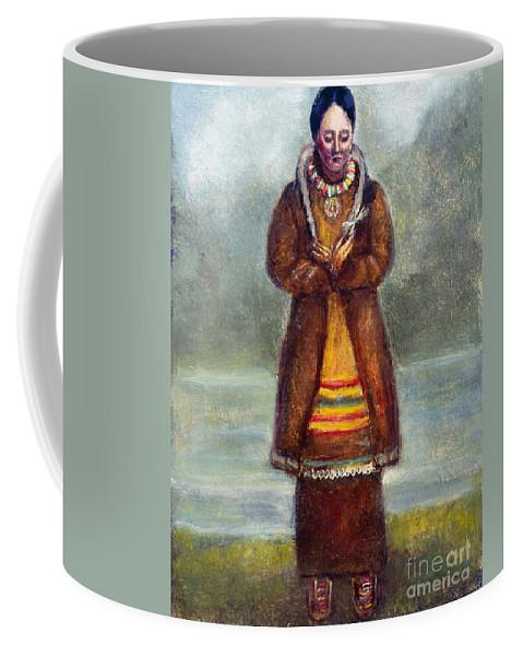 1681 Coffee Mug featuring the photograph Kateri Tekakwitha by Granger