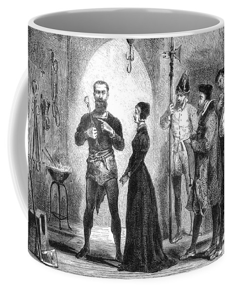 Science Coffee Mug featuring the photograph Katharina Kepler, Alleged German Witch by Science Source