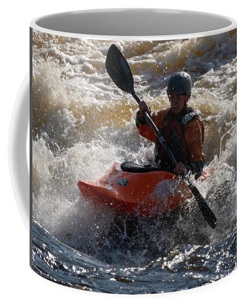 Lehtokukka Coffee Mug featuring the photograph Kayak 7 by Jouko Lehto