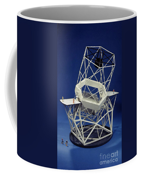 Science Coffee Mug featuring the photograph Keck Observatorys Ten Meter Telescope by Science Source