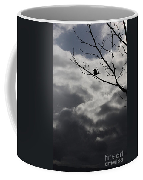 Storm Coffee Mug featuring the photograph Keeping Above The Storm by Carol Groenen