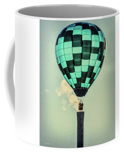 Bates Mill Coffee Mug featuring the photograph Keeping Warm As You Float by Bob Orsillo
