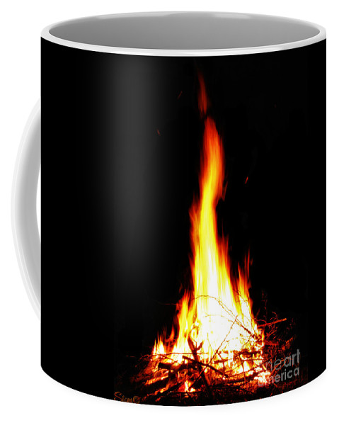 Fire Coffee Mug featuring the photograph Kegan by September Stone
