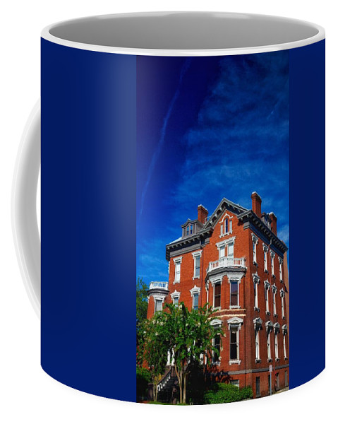 Bed And Breakfast Coffee Mug featuring the photograph Kehoe House Savannah Georgia by Paul Wilford