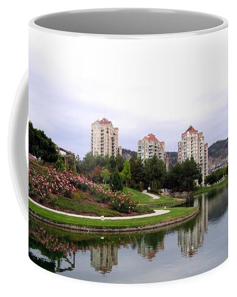 Kelowna Coffee Mug featuring the photograph Kelowna Waterfront Park by Will Borden