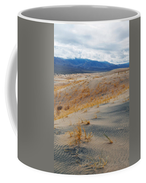 Kelso Dunes Coffee Mug featuring the photograph Kelso Dunes Winter by Kyle Hanson