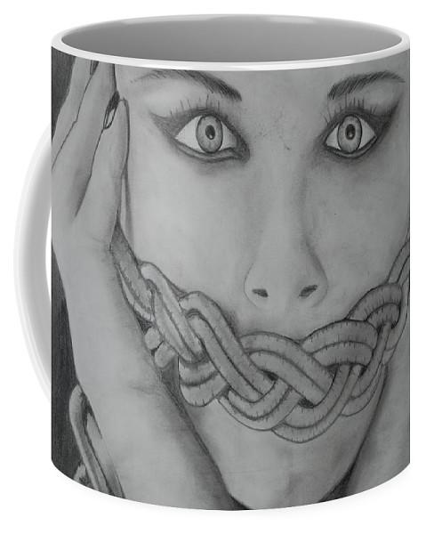 Art Coffee Mug featuring the photograph Keltic Silence by Rob Hans