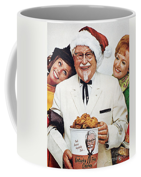 1968 Coffee Mug featuring the photograph Kentucky Fried Chicken Ad by Granger
