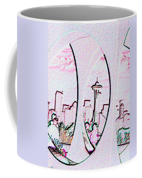Seattle Coffee Mug featuring the photograph Kerry Needle 2 by Tim Allen