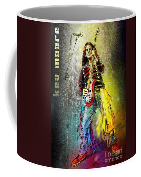 Kev Moore Portrait Coffee Mug featuring the digital art Kev Moore by Miki De Goodaboom