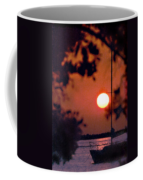 Seascape Coffee Mug featuring the photograph Key Largo by Steve Karol