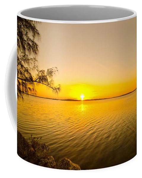 Sunrise Coffee Mug featuring the photograph Key Largo Sunrise 2 by Chris Thaxter