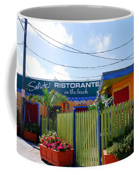 Key West Colors Coffee Mug featuring the photograph Key West Colors by Susanne Van Hulst