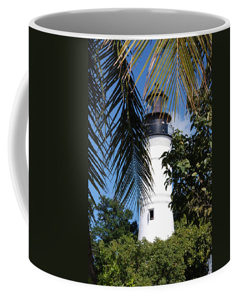 Lighthouse Coffee Mug featuring the photograph Key West Lighthouse by Susanne Van Hulst